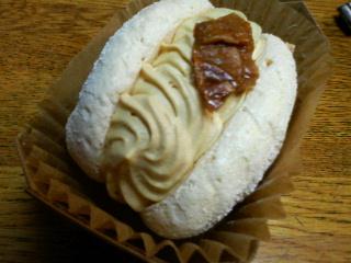 キャラメルのメレンゲ菓子