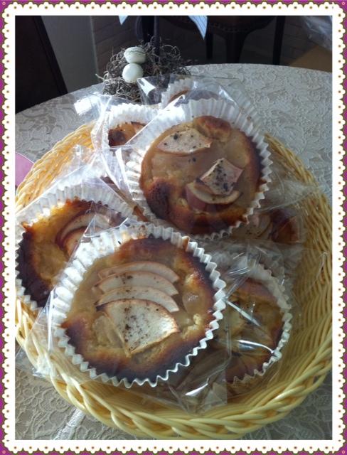 りんごの焼き菓子