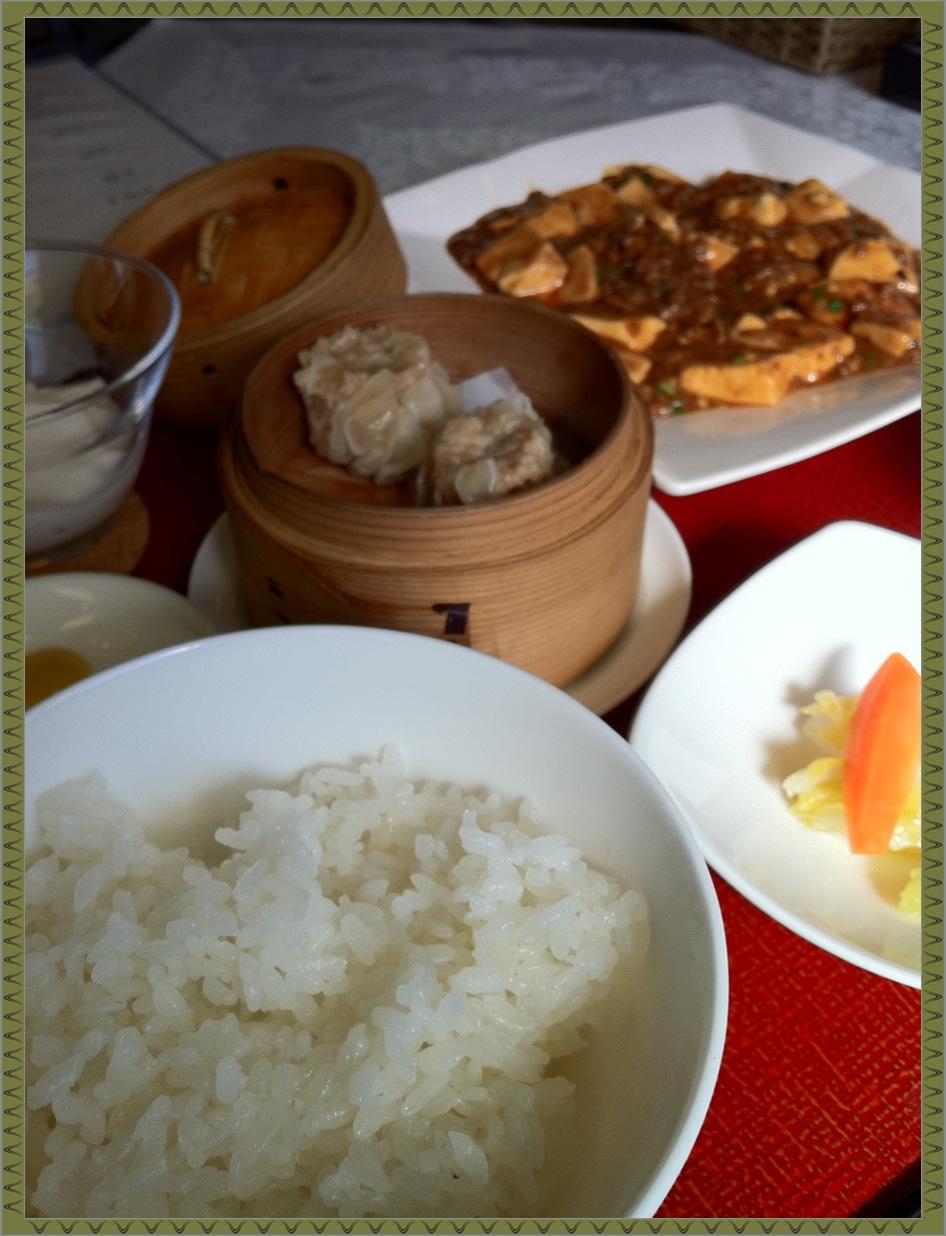 麻婆豆腐は?