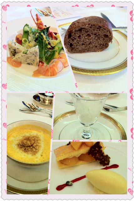 志摩観光ホテルのディナー