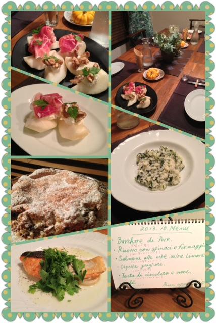 10月のイタリアン料理教室に参加