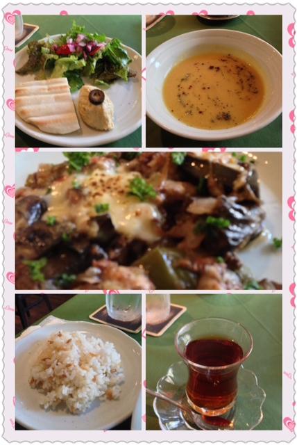 神戸のランチは、トルコ料理  ケナン