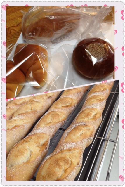 パンの購入と昨日の復習