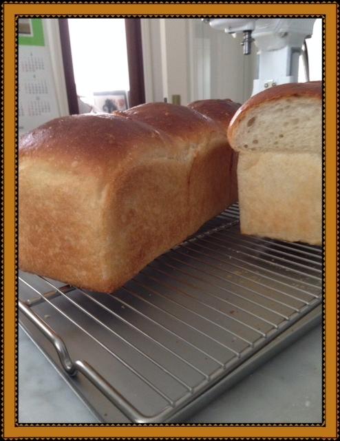 湯だね食パンで来ました。