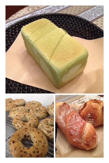 新作抹茶柚子食パン