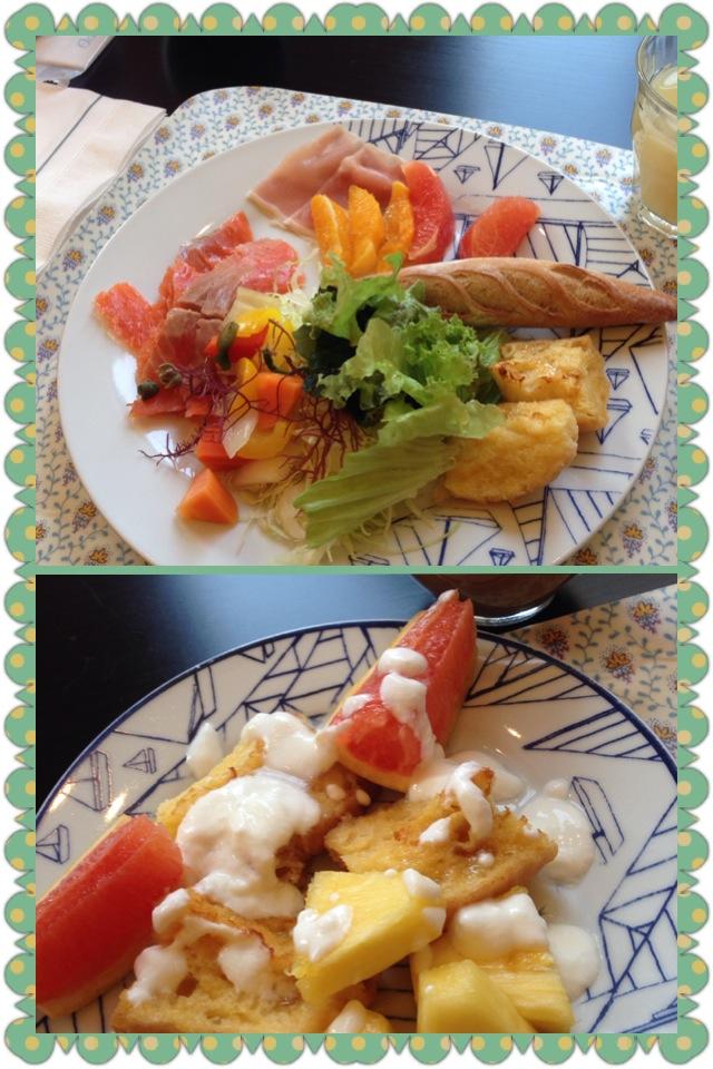 朝食をスタイリング