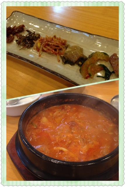 韓国家庭料理の店
