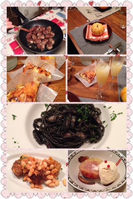 10月のイタリア料理教室