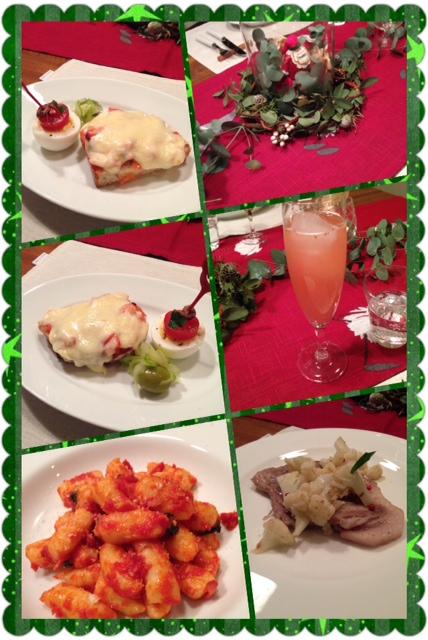 12月のイタリア料理教室に参加