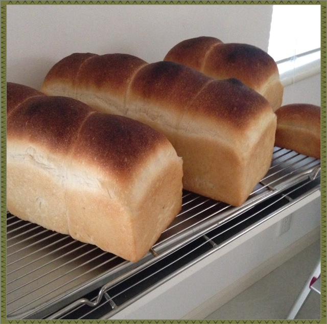 ボーリッシュ法の食パン