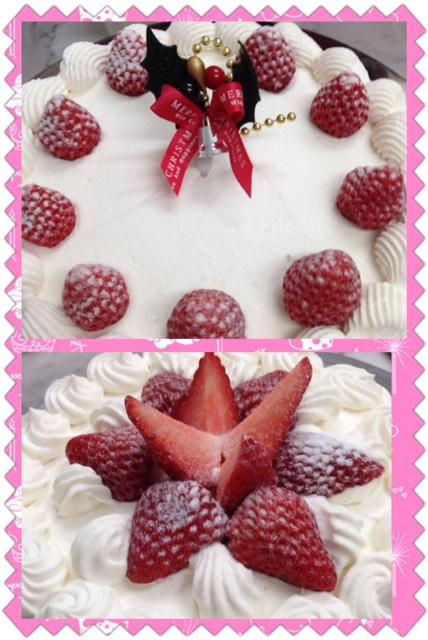 2015年のクリスマスケーキ
