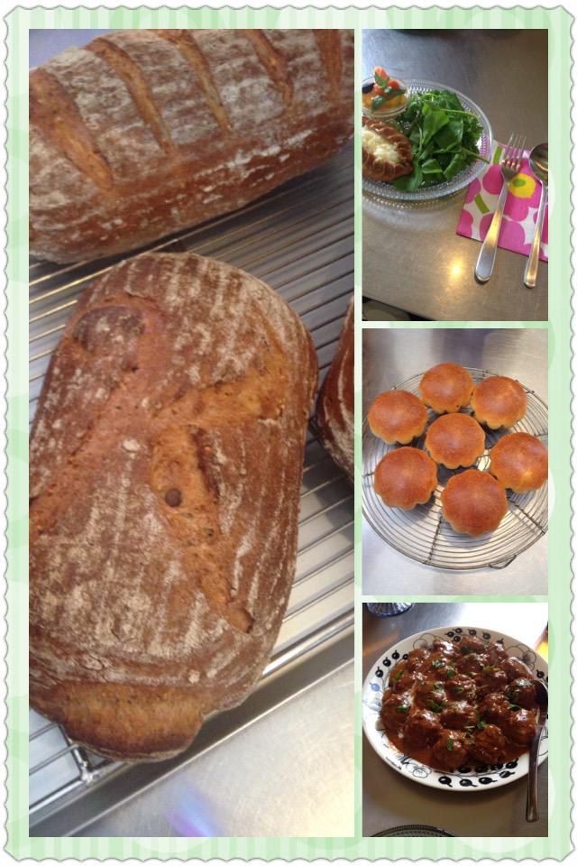 フィンランドのパンと料理