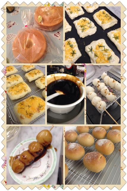 洋菓子から和菓子、パンもある週末
