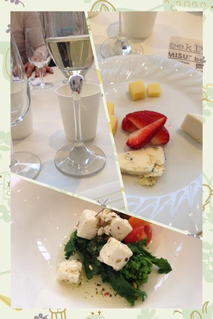 チーズワインセミナーに参加