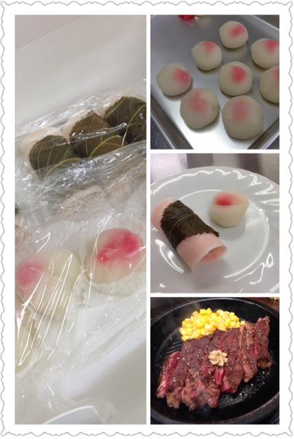 桜餅講座からいきなりステーキ